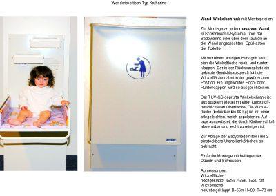 Wandwickeltisch-Katharina